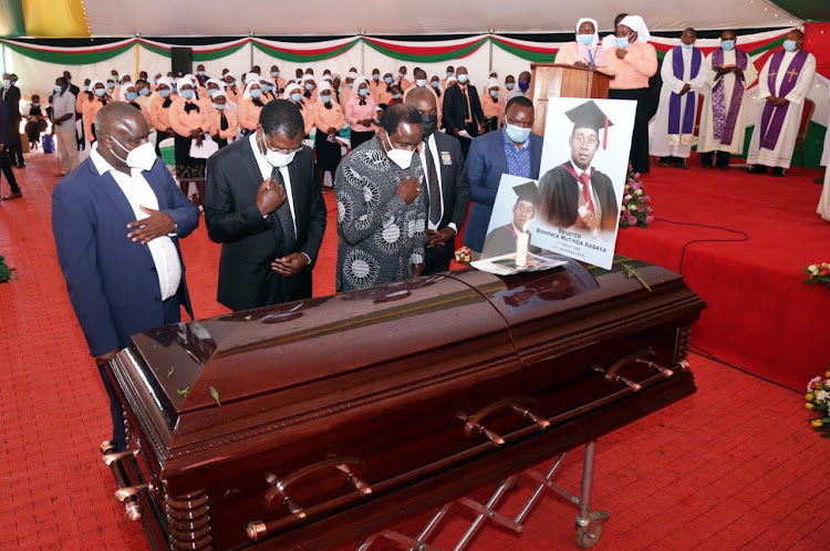 Politicians pay final respect to late college Machakos senator Mutinda Kabaka