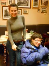 Photo: 27 XII 2011 roku - i z Martą już po  miodzie pitnym