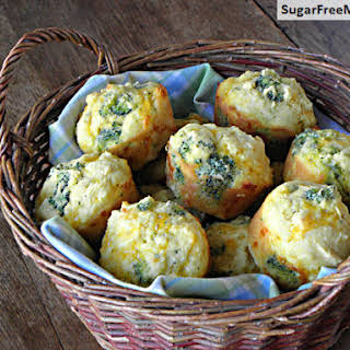 Cheddar Broccoli Cornbread Muffins.