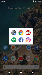 Launcher Tile Screenshot