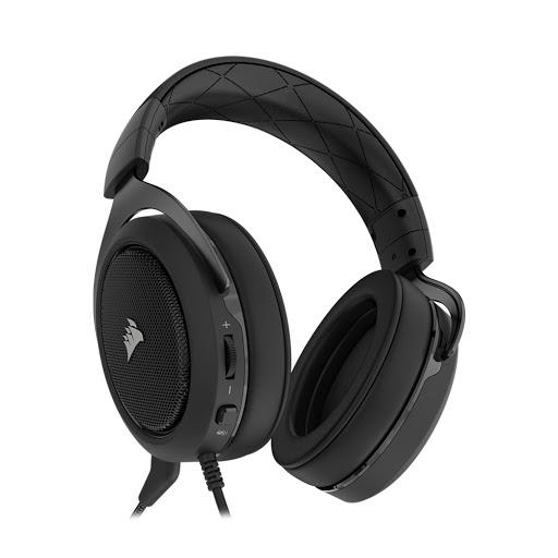 Tai nghe Corsair HS50 Stereo Carbon-4