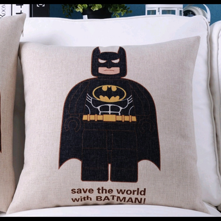Superheroes Pillow Case Cover