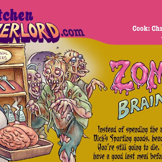 Zombie Brain Bread