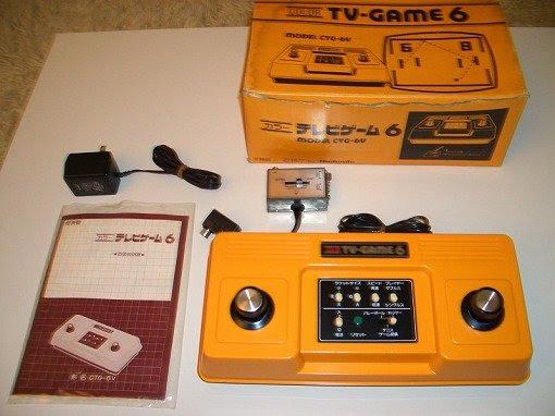 Uno de los tantos clones del Pong de Atari: La Nintendo TV-Game 6 (sí...antes de la NES / Famicom tuvo otra consola hogareña)