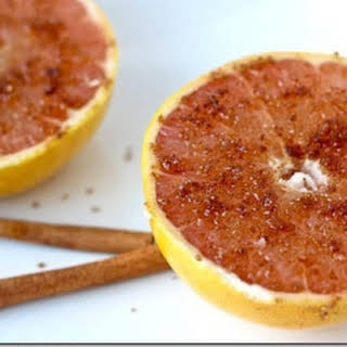 Baked Cinnamon Grapefruit.