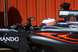Photo: Jenson Button - McLaren Honda