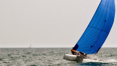 Photo: Water Rats Regatta - Tom and Ed ripping downwind.