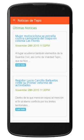 android Noticias de Tepic Screenshot 0