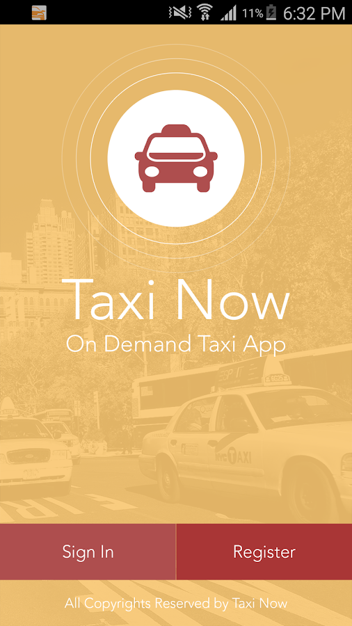 Taxi Anytime - book taxis,cabs- screenshot