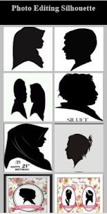 Photo Editing Silhouette - náhled