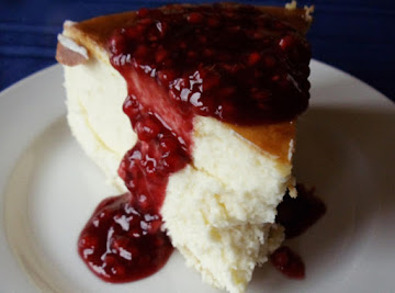 Raspberry Grand Marnier Cheesecake Recipe