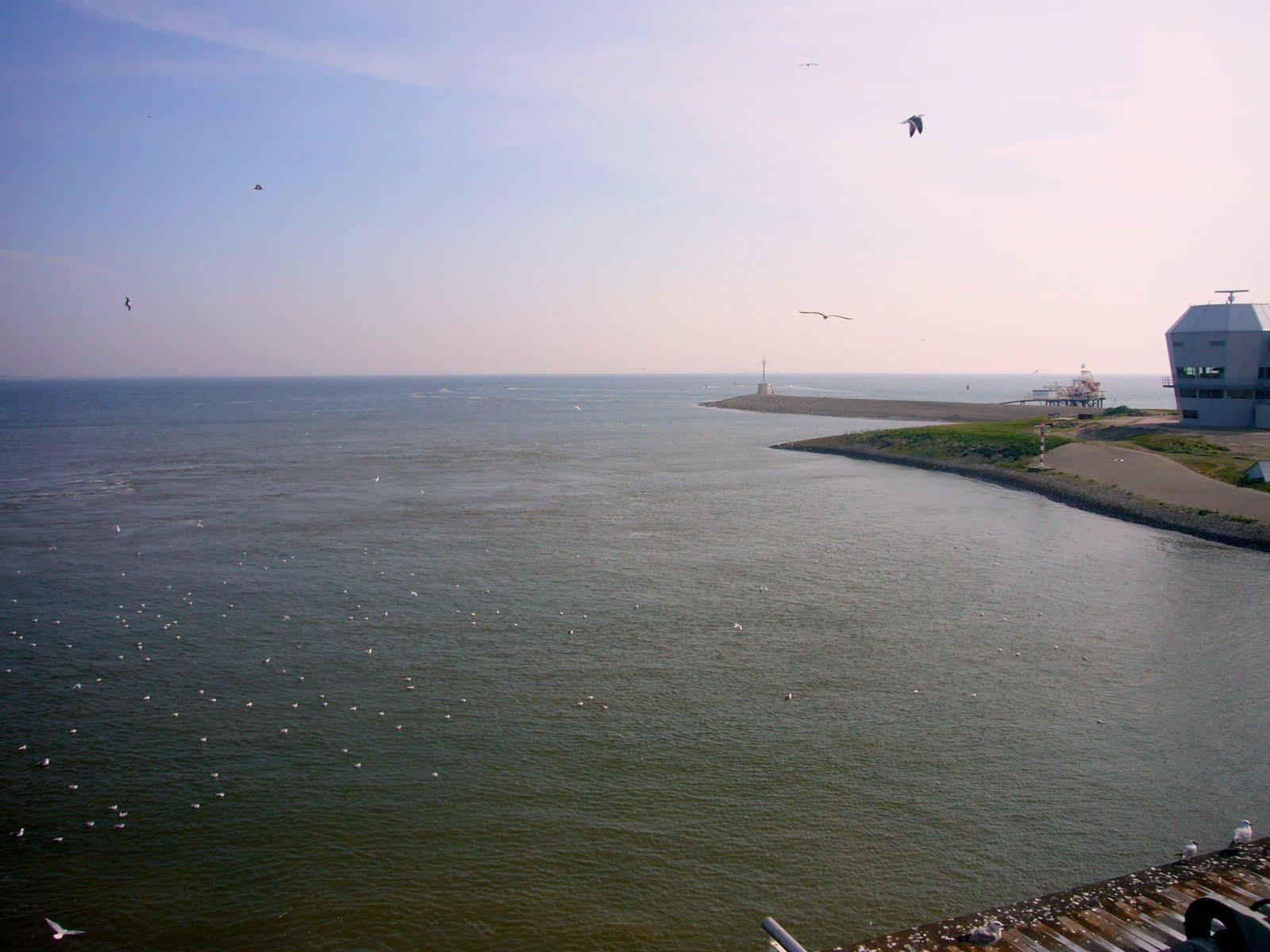 Photo: Het zeegat uit!