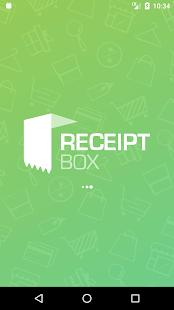 Receipt Box - náhled