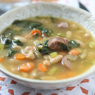 Vegetable Bean Soup With Spinach Recipes