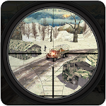 Mountain Sniper Army shooting Real FPS Shooter Icon