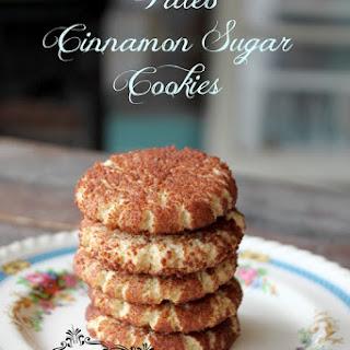 Paleo Cinnamon & Sugar Cookies (Snickerdoodles)
