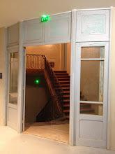 Photo: Escalier vers l'espace des grandes œuvres