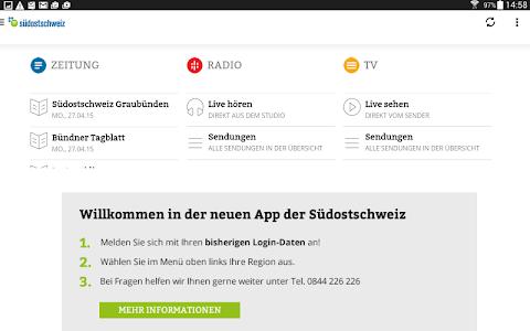 Südostschweiz (Tablet) screenshot 0