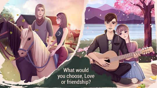 Love Story Games: Teenage Drama MOD (Ads Removed) 1