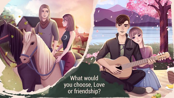 Love Story Games: Teenage Drama Android App Screenshot