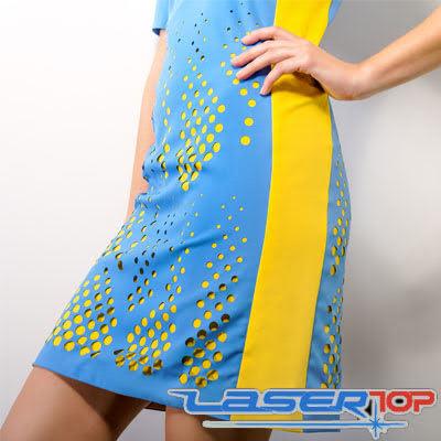 Cắt Laser Hoa Văn Lên Vải, Quần Áo, Đầm, Váy