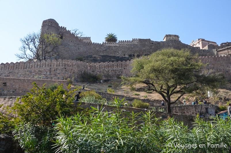 Montée Kumbhalgarh