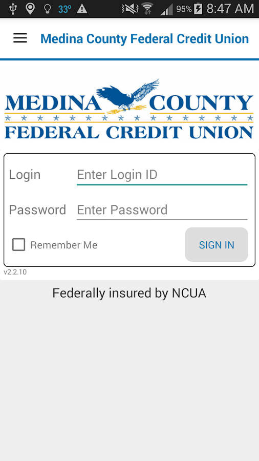 Medina County FCU- screenshot