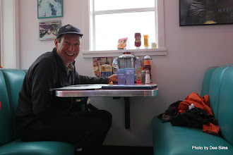 Photo: (Year 2) Day 337 - Rog in Nifty Fiftys Diner