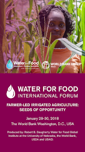 Water for Food Int'l Forum - náhled