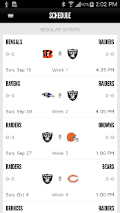 Oakland Raiders- screenshot thumbnail