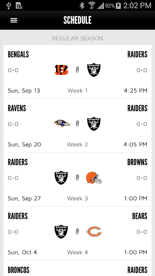 Oakland Raiders- screenshot