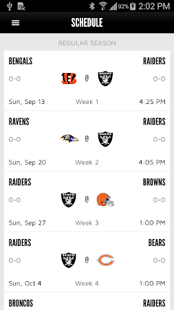 Oakland Raiders 1.0.0 screenshot 322313