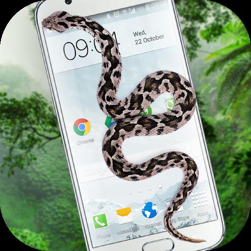 Snake On Screen Hissing Joke (app)