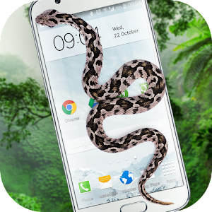 Snake On Screen Hissing Joke 1.3 Apk