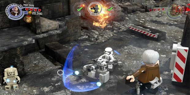 Guide Pressure LEGO Star Wars The Force Awakens - náhled