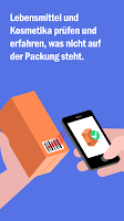 Screenshot of Codecheck: Inhaltsstoffe-Check