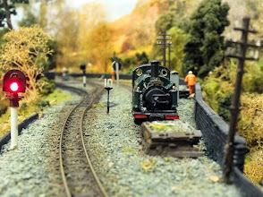 Photo: 016 A rather better, 1:76 scale eye level view of Welsh Pony in the headshunt .