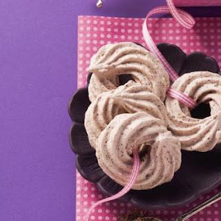 Chocolate Meringue Whirls