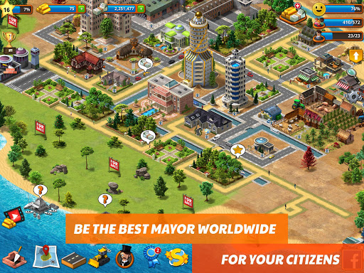 Tropic Paradise Sim: Town Building City Island Bay 1.0.10 screenshots 7