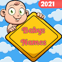 Baby names and meaning - Free icon
