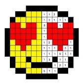 Tải Emoji Color By Number Pixel Art Sandbox miễn phí