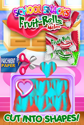 Fruit Roll Candy Maker - School Snacks Sim FREE 1.0 screenshots 7