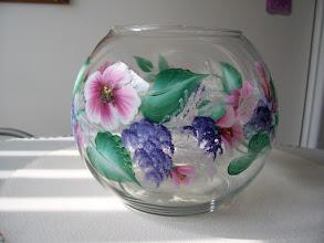 Photo: Glass Vase $25.00