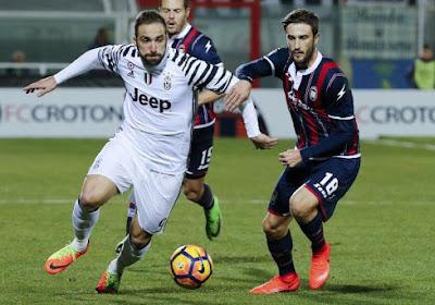 Crotone et Dussenne limitent la casse face à la Juventus