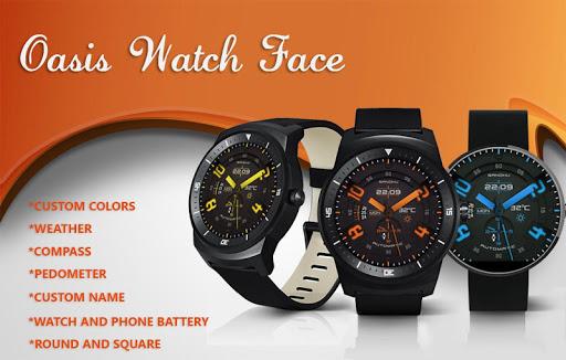 Oasis Premium Watch Face