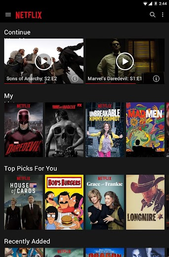 Screenshot 10 for Netflix's Android app'