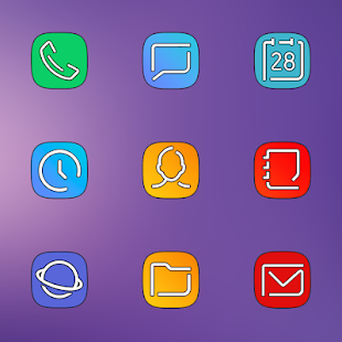 S9 UX HD ICON PACK Screenshot