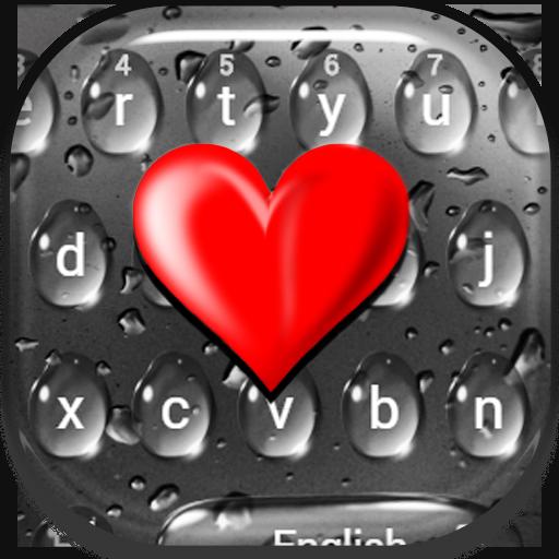 Glass Drop Keyboard Theme