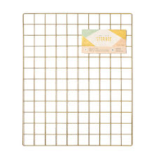 Crate Paper Wire System Grid Panel 20X24 - Gold UTGÅENDE