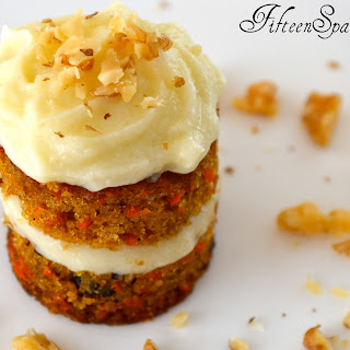 Petite Carrot Cakes with Whipped Mascarpone Frosting